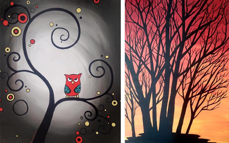 Fine Art Painting Brittany Hunt | Graphic Design Portfolio ...